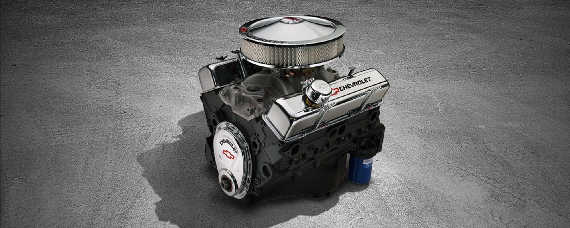 350290 Hp Small Block Crate Engine Chevrolet Performance