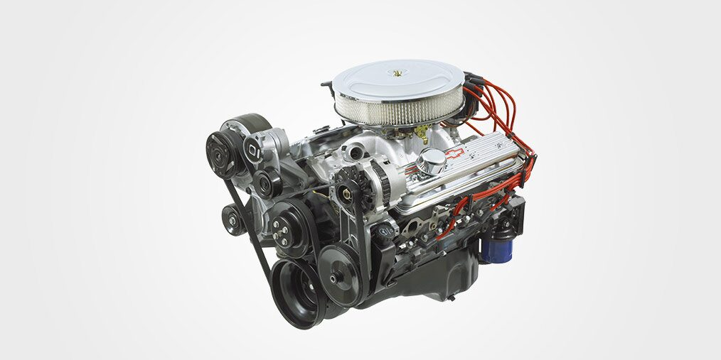 350 Ho Small Block Crate Engine Chevrolet Performance