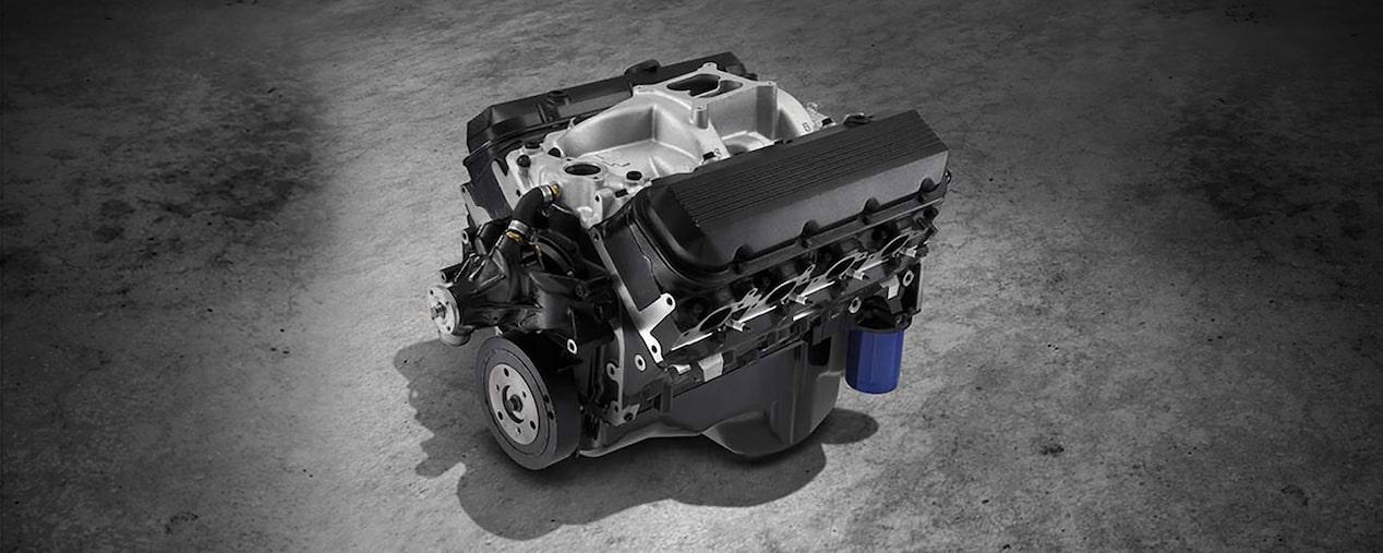 ho big block crate engine chevrolet performance