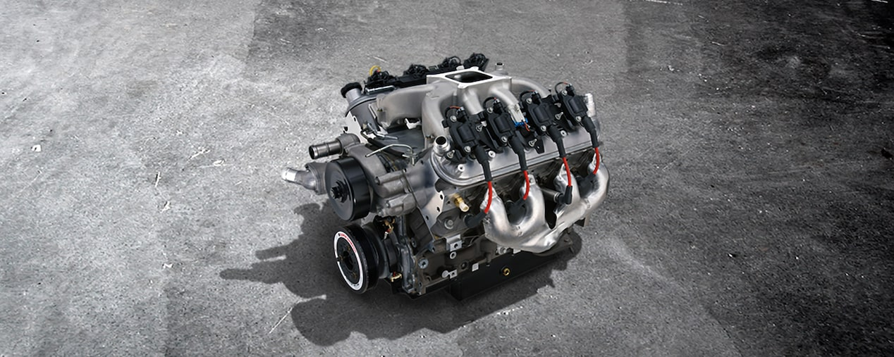 CT 525/525 Circle Track Crate Engine | Chevrolet Performance