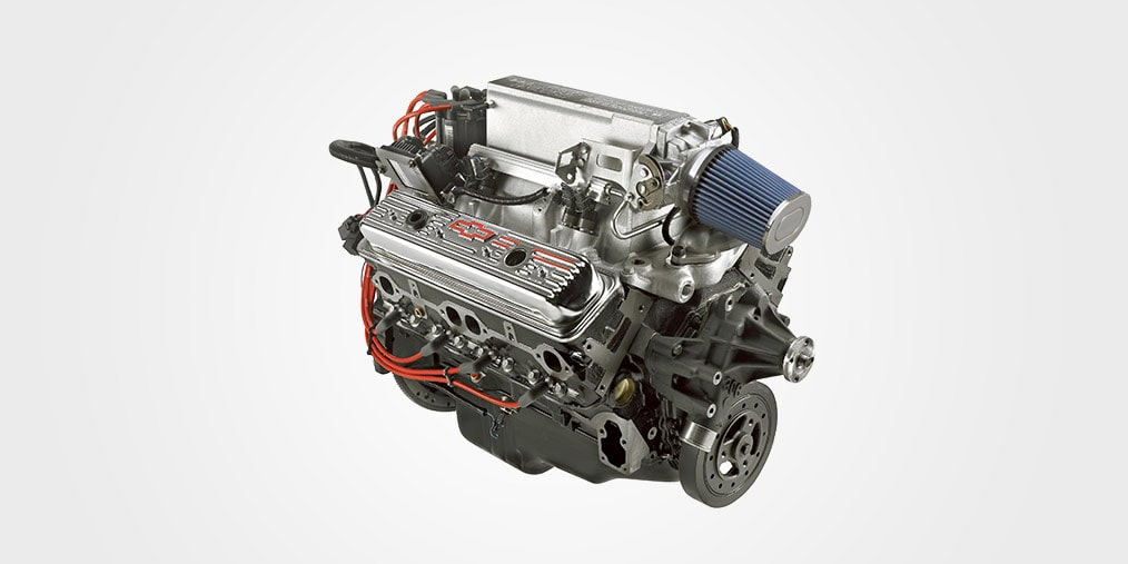 Ram Jet 350 Small Block Crate Engine Chevrolet Performance
