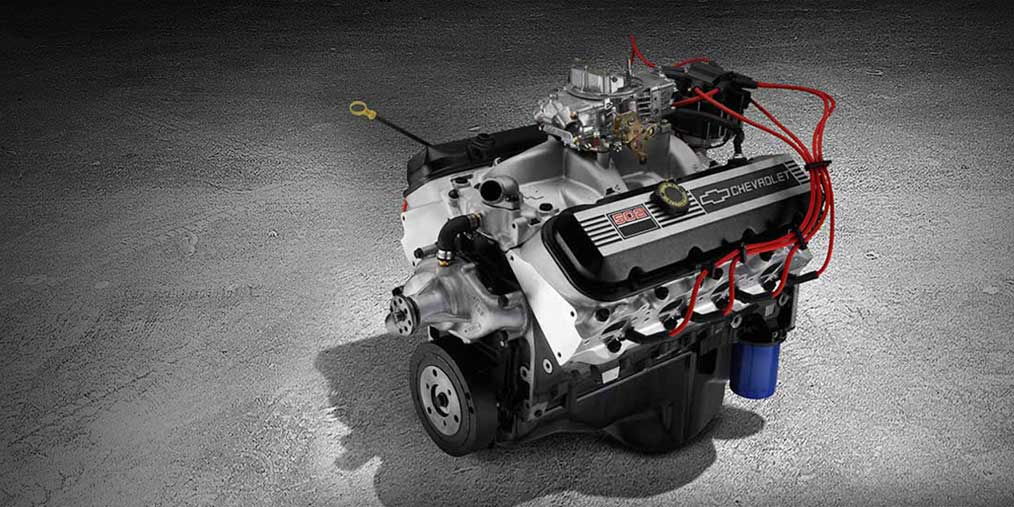 Gm Crate Engines >> ZZ502 Deluxe Big Block Crate Engine | Chevrolet Performance