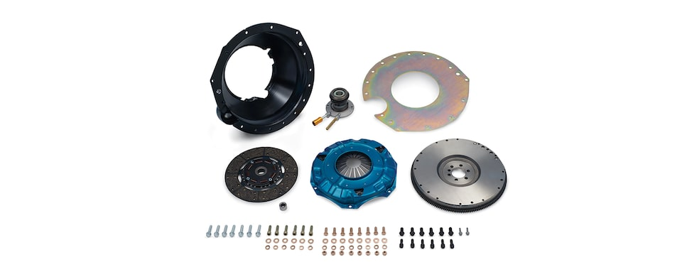 : Chevrolet Performance TREMEC T56 Super Magnum Transmission Installation Kit For Small Block Engines Part No. 19329900