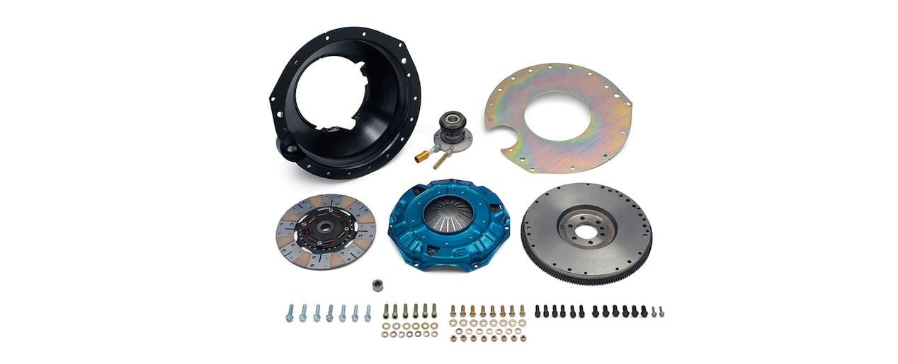 Chevrolet Performance TREMEC T56 Super Magnum Transmission Installation Kit For 454 And 502 Big Block Engines Part No. 19329901