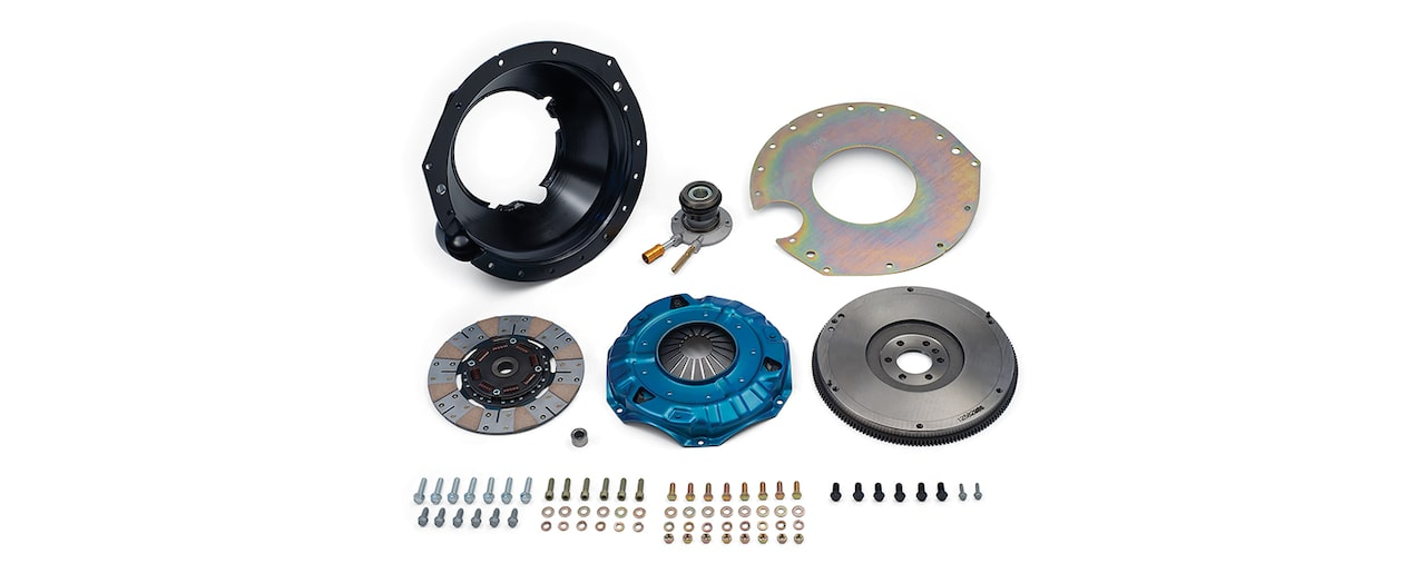 Chevrolet Performance TREMEC T56 Super Magnum Transmission Installation Kit For 427 And 572 Big Block Engines Part No. 19329902