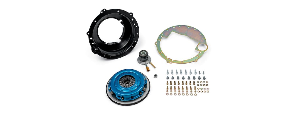 Chevrolet Performance TREMEC T56 Super Magnum Transmission Installation Kit For LS And LT Engines With 8-Bolt Flange Part No. 19329912