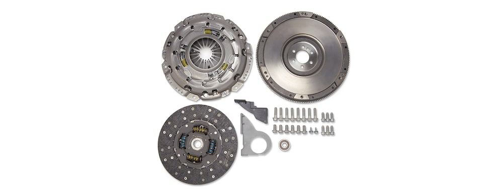 Chevrolet Performance TREMEC TR6060 (MG10) Transmission Installation Kit With 6-Bolt Flange Part No. 19259271