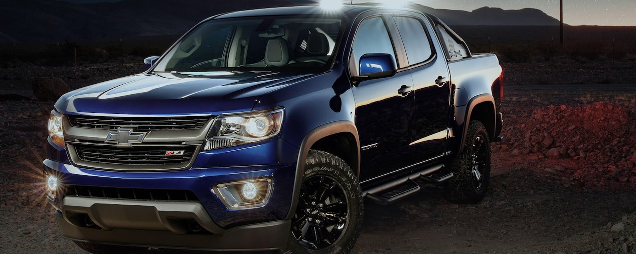 2017 Chevrolet Colorado mid size truck vehicle upgrades and accessories