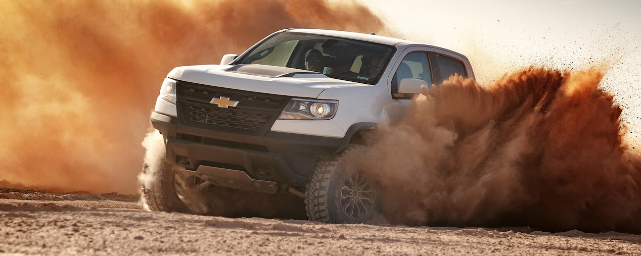 Customize your Colorado with factory-engineered off-road vehicle upgrades from Chevrolet Performance.
