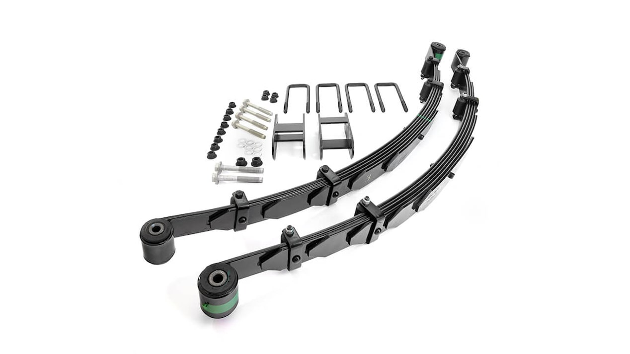 Chevrolet Performance Colorado ZR2 Long Travel Leaf Spring System Off-Road Vehicle Upgrade Part No. 84402368