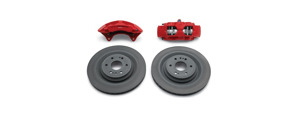Chevrolet Silverado Performance Front Brake Kit