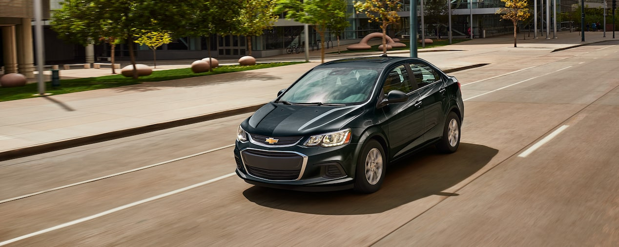 2017 Chevrolet Sonic Small Car upgrades