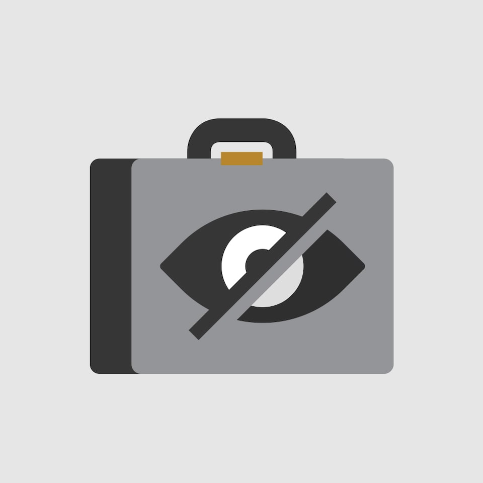 Hidden Storage Icon