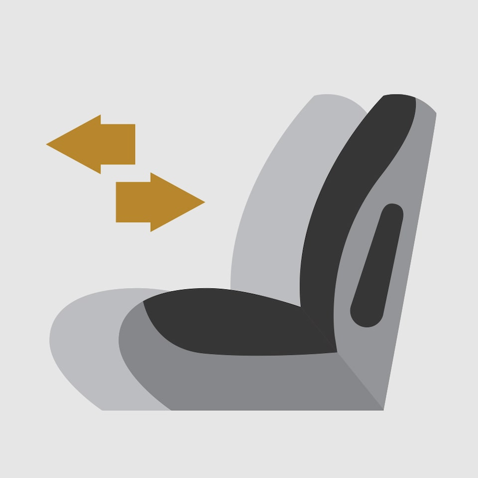 Smart Sliding Seats Icon