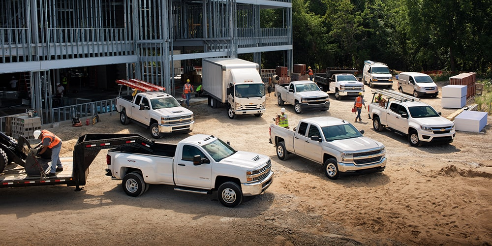 Chevrolet Fleet vehicles at John L Sullivan Chevrolet in Roseville, CA