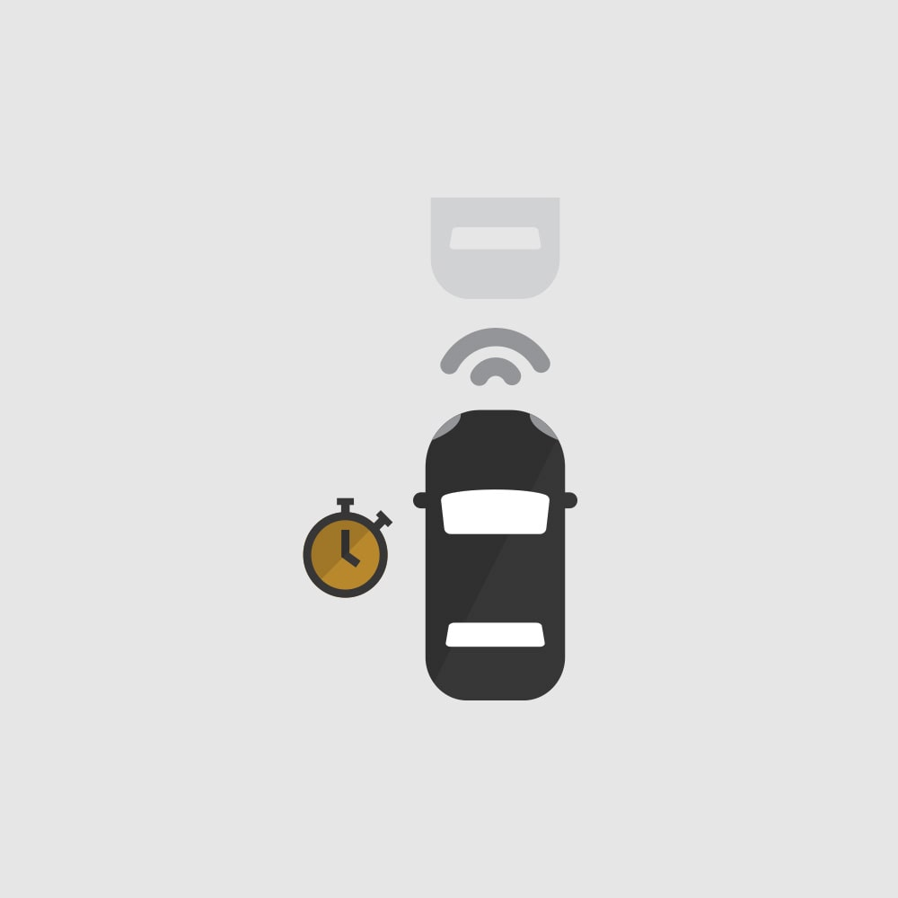 Following Distance Indicator Icon