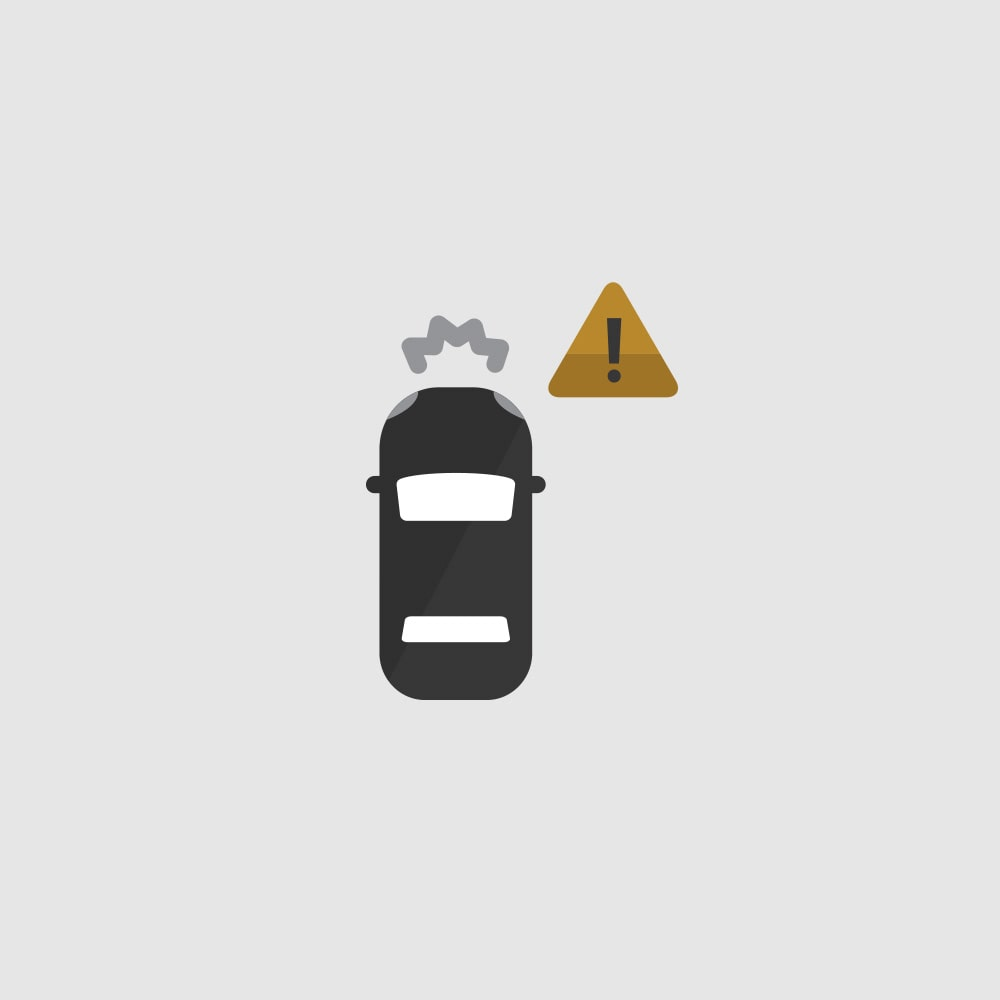Forward Collision Alert Icon