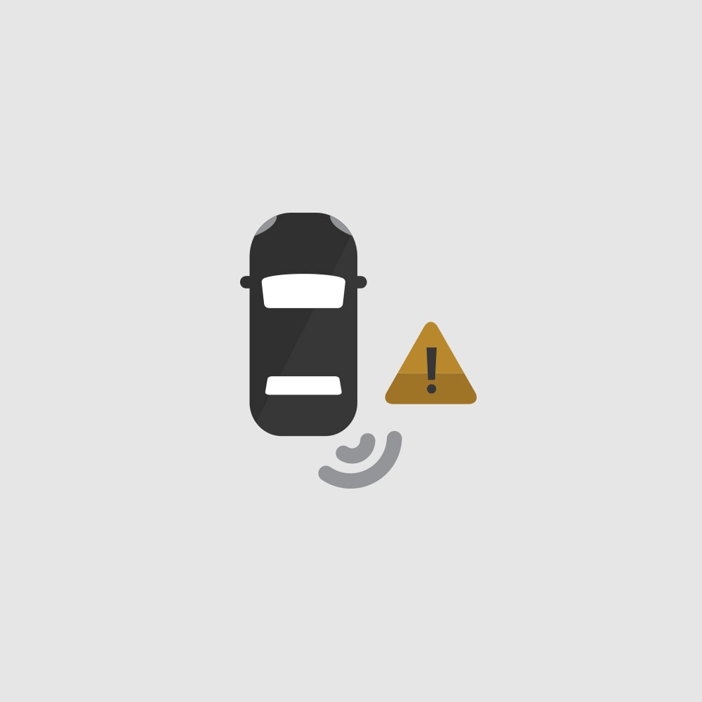 Side Blind Zone Alert Icon