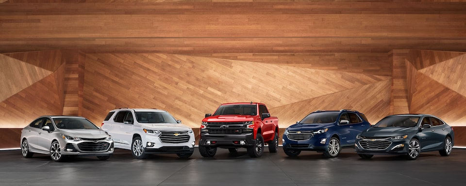 Chevy Discount Program - Chevy Lineup