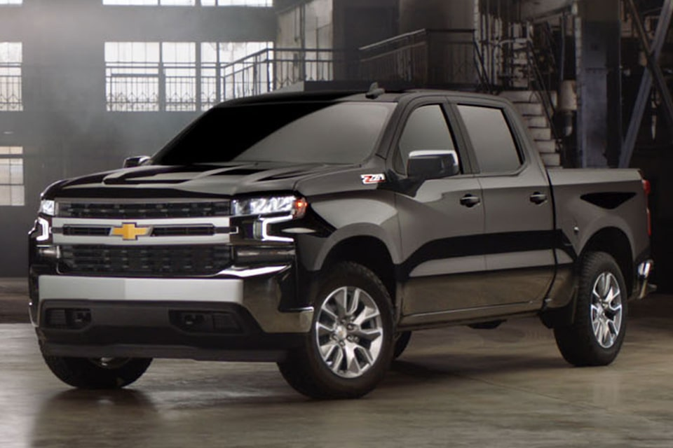 All-New 2019 Chevy Silverado Crew Cab LT All Star Z71