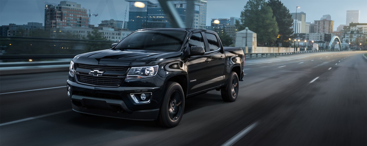 Colorado Special Editions: Trail Boss, Midnight | Chevrolet