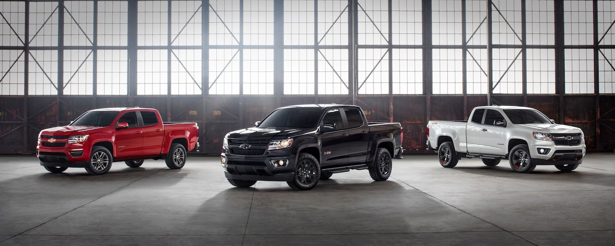 Colorado Special Editions Trail Boss Midnight Chevrolet