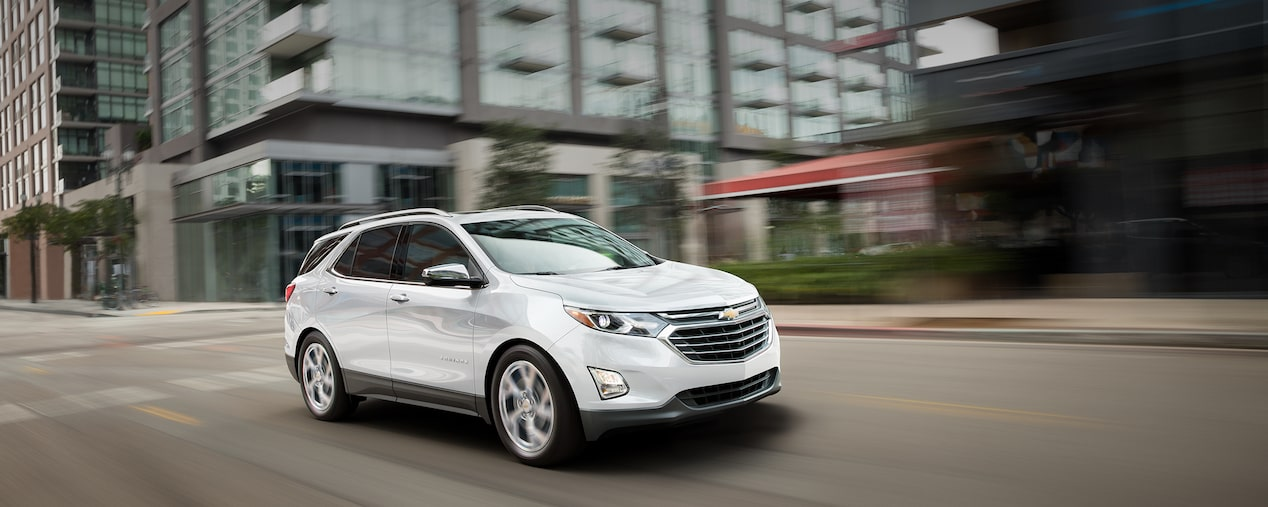 Chevrolet Commercial Vehicles: Equinox Compact SUV