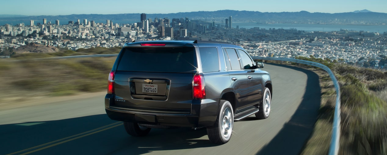 Chevrolet Commercial Vehicles: Tahoe Full-Size SUV Rear View