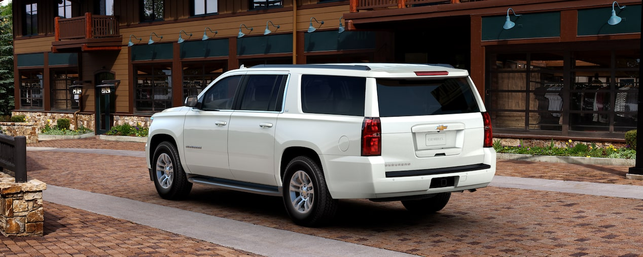 Chevrolet Commercial Vehicles Suburban Large Suv Rear View