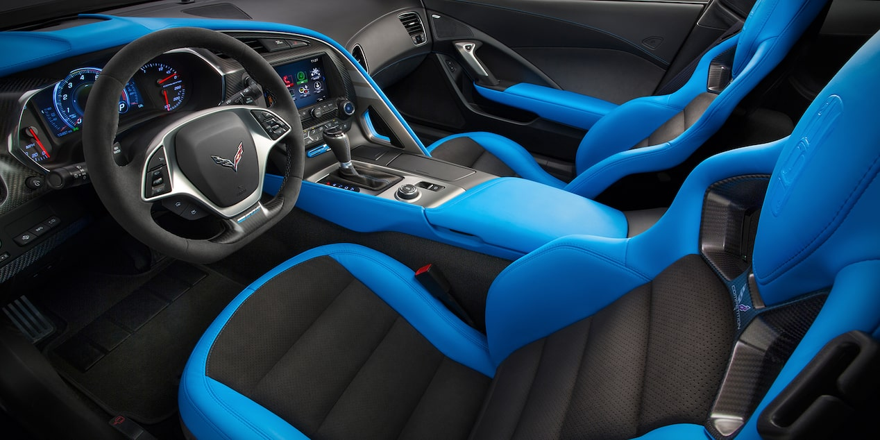 Corvette Special Editions Grand Sport Collector Edition: interior