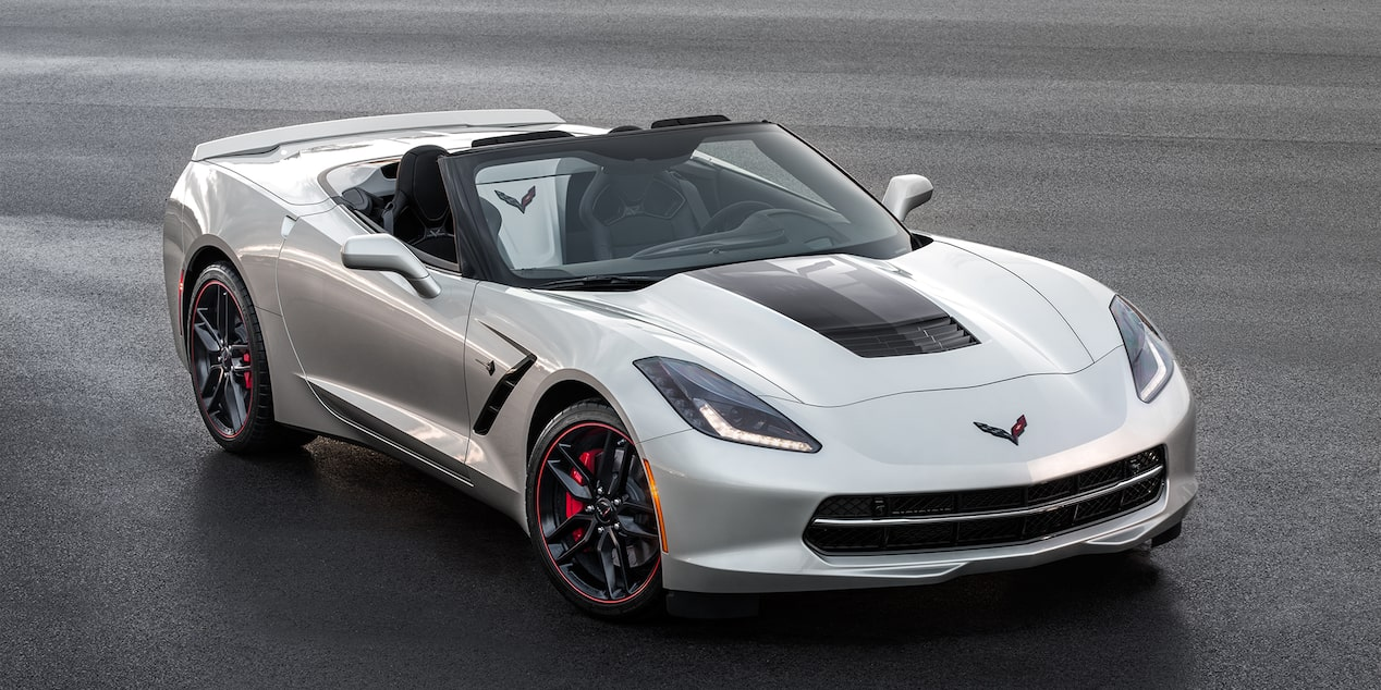 Corvette Special Editions Jet Black Suede Design Package