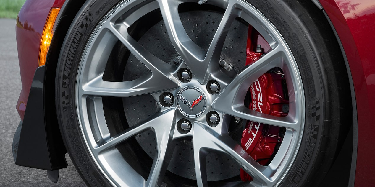 Corvette Special Editions Spice Red Design Package: wheels