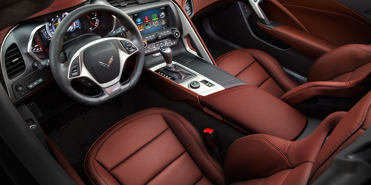 Corvette Special Editions Spice Red Design Package: interior