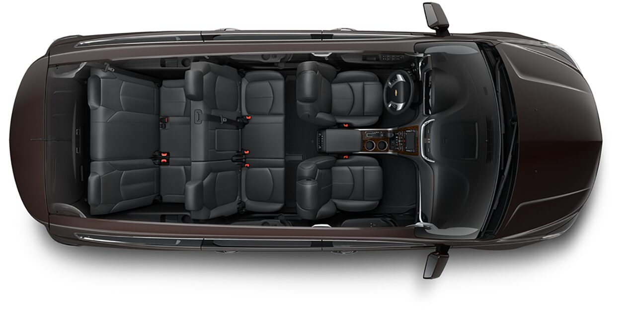 Chevrolet Crossover SUV's: Cargo Space