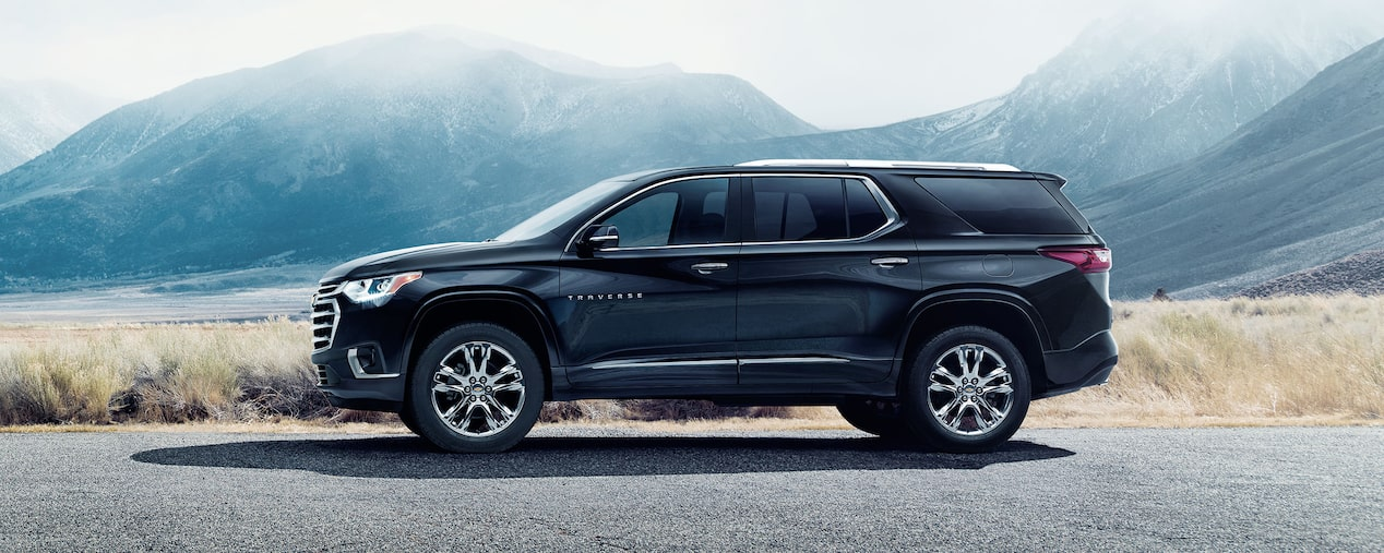 Chevrolet Crossover SUV's: Traverse Side Profile