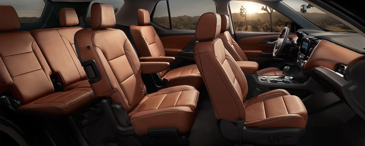 Chevrolet Crossover SUV's: Interior