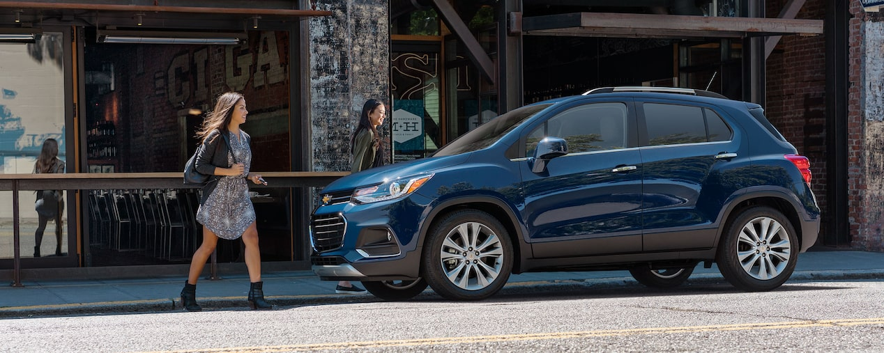 Chevrolet Crossover SUV's: Trax Side Profile