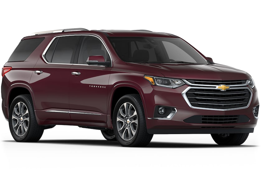 Chevrolet Crossover SUV's: Traverse
