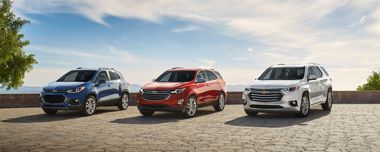Chevy Crossover Suvs Seating For 5 8 Passengers