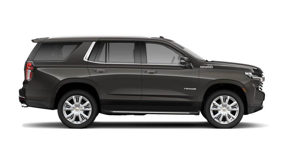 Profile Shot of 2021 Tahoe Full-Size SUV