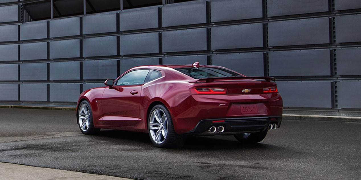 2017 Camaro Sports Car Exterior: rear