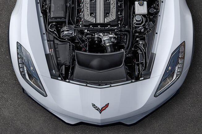 2018 Corvette Exterior Photo: Engine