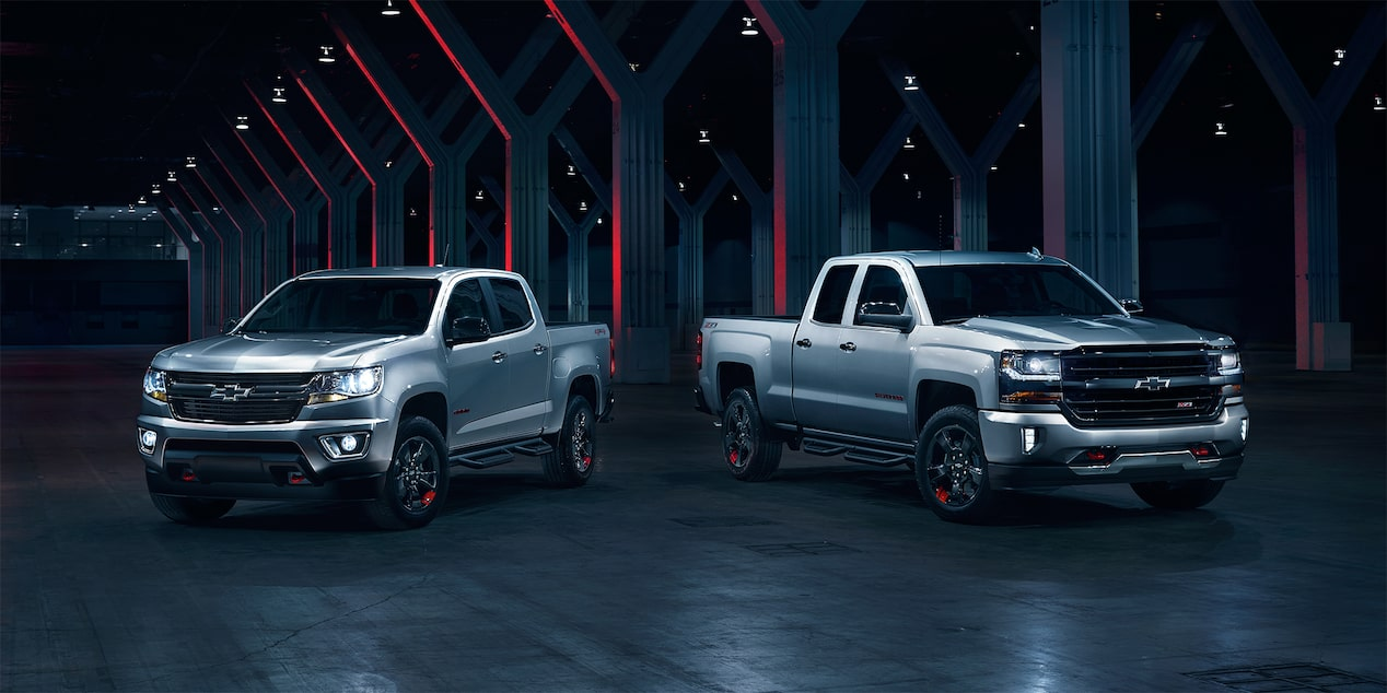 Chevrolet Redline Series: Colorado & Silverado