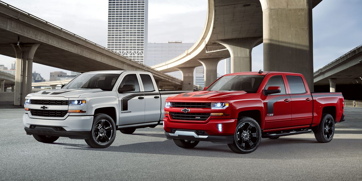 Chevy silverado special editions rally 1 2