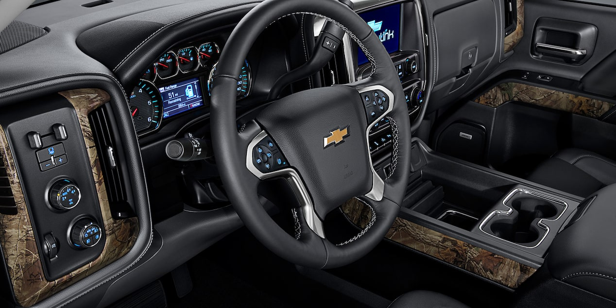 Chevy Silverado Special Editions: Realtree interior