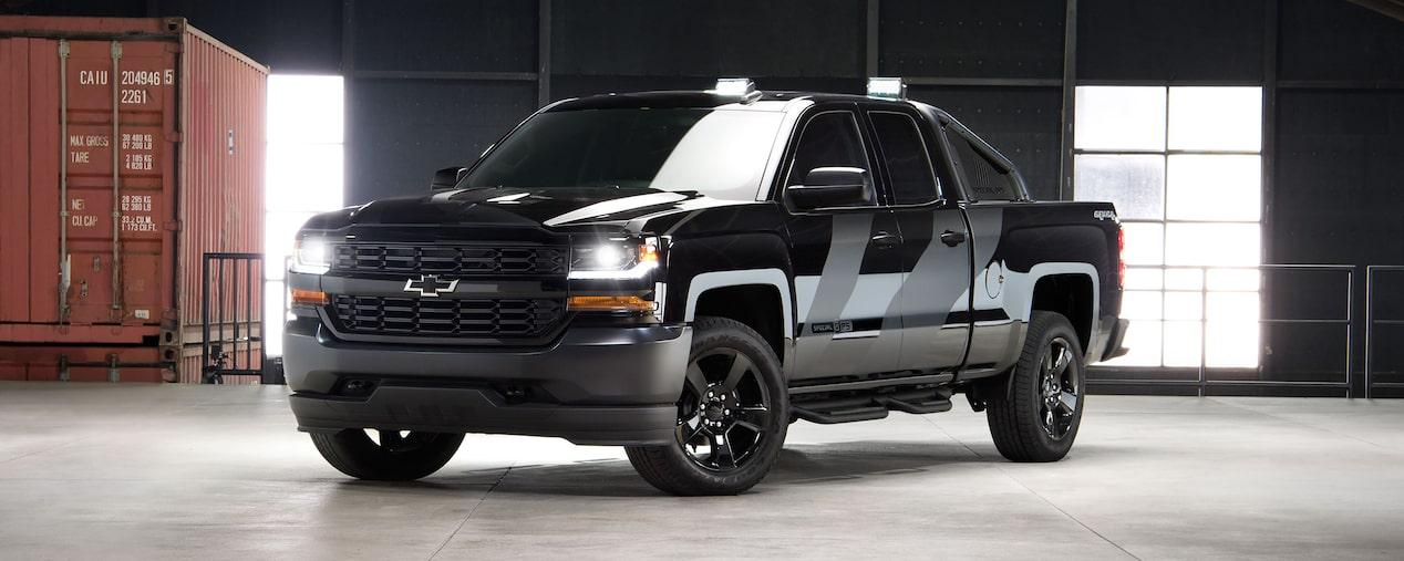 Chevy Silverado Special Edition >> Special Edition Trucks Silverado Chevrolet