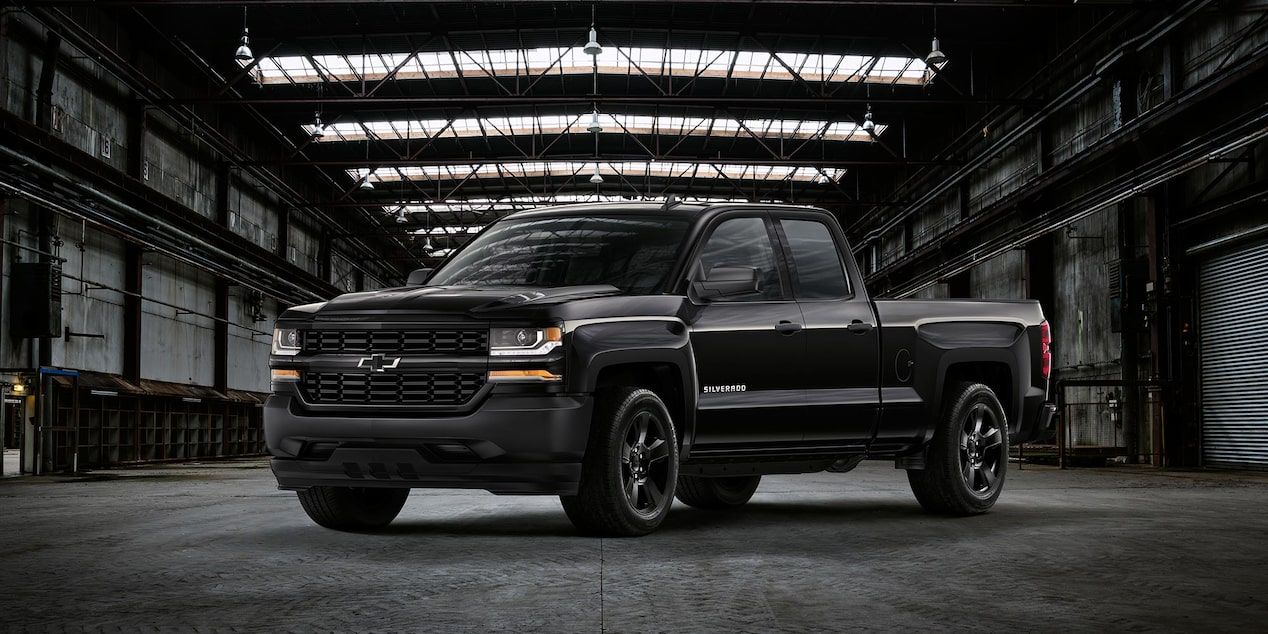 Blackout Chevy Silverado >> Special Edition Trucks Silverado Chevrolet