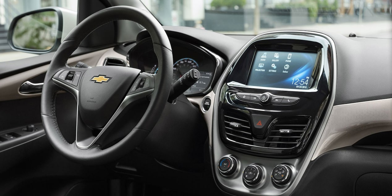 Chevrolet Small Car Technology Le Carplay