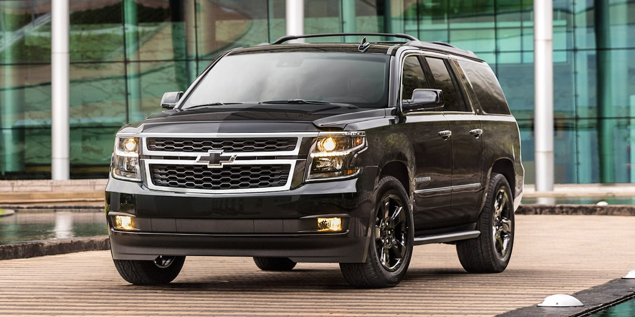 Blacked Out Tahoe >> Suburban Large SUV: Special Editions | Chevrolet