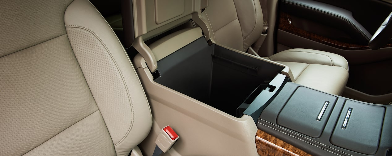 Chevrolet SUV Lineup: large center console